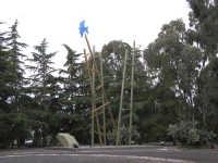 Le grandi scale Fondazione La Verde, La Malfa -Istallazione di Elena La Verde (Le grandi scale)  - Trappeto (6513 clic)