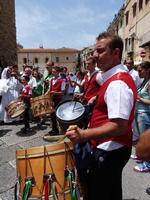 Tamburinai XXI Cammino Nazionale delle Confraternite Italiane. Un momento del raduno - giugno 2012 -.  - Monreale (3045 clic)