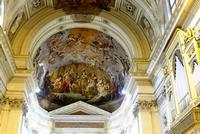 Cattedrale di Palermo Affresco del Catino dell'abside   Restituzione della Chiesa palermitana al ve