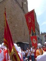 XXI Cammino delle Confraternite Sfilata delle Confraternite in occasione del raduno annuale delle Confraternite Italiane a Monreale - giugno 2012 -  - Monreale (3044 clic)
