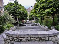 Uno scorcio dell'abitato di Taormina (2620 clic)