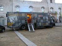 La Guardia di Finanza visita il sito NEC RECISA RECEDIT   bellissimo  e  FIERO  motto della Guardia di Finanza.  - Gibellina (1118 clic)