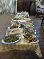 Piatti tipici del buffet Masseria Portiere Stella   a  Paternò  -  Gennaio 2014  - Paternò (2805 clic)
