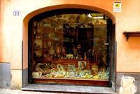Vetrina negozio di ceramiche   - Castelbuono (942 clic)