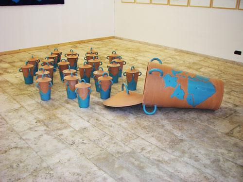 Installazione di Ugo La Pietra - GIBELLINA - inserita il 19-May-14