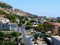 Falde Monte Pellegrino e ingresso Fiera del Mediterraneo  PALERMO Maria Pia Lo Verso