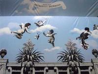 Lavori di restauro Hotel Metropole Il telo cprende i lavori di restauro dell'hotel Metropole di Taormina in Corso Umberto  - Taormina (1834 clic)