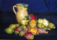 Brocca di Burgio e fichidindia composizione con fichidindia e brocca di Burgio  - Palermo (7856 clic)