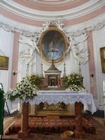 la cappella del Real  Casino di Caccia borbonico  La cappella è dedicata a Santa Rosalia   - Ficuzza (3120 clic)