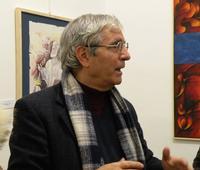 Francesco Marcello Scorsone Francesco Scorsone alla galleria Studio 71 nel corso della presentazione