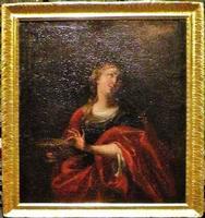 Santa Lucia Il ritratto di Santa Lucia all'interno del Duomo di Siracusa  - Siracusa (1423 clic)