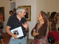 Francesco M. Scorsone e Luciana Anelli Francesco Scorsone e Luciana Anelli a Taormina nel corso della mostra dedicata a Giuseppe Migneco  - Taormina (6238 clic)