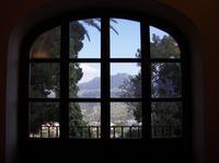 Complesso Guglielmo II la finestra che si apre su Palermo dal Complesso monumentale Guglielmo II di