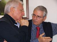 Antonio Marchese e Francesco Scorsone Toni Marchese e Marcello Scorsone alla galleria Studio 71 di P