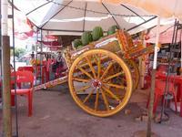 Il carretto del  Mulunaro Un tipico carretto siciliano carico di cocomeri (muluna) ti accoglie  non