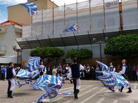 Sbandieratori a Capo D'Orlando (1218 clic)