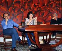 Aldo Gerbino - Vinny Scorsone e Francesco Gallo Intervento di Vinny Scorsone nel corso della presentazione della monografia di Elena La Verde  - San giovanni la punta (3435 clic)