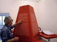 Francesco M. Scorsone e la piramide Campari  PALERMO Maria Pia Lo Verso