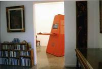 la piramide Campari la piramire Campari posizionata all'interno della galleria Studio 71 di Palermo