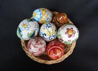 uova di ceramica siciliana  PALERMO Maria Pia Lo Verso