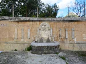 Fontana del bivio tra Giardinello e Partinico  - GIARDINELLO - inserita il 08-Jan-11
