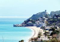 Spiaggia e torre normanna   - Altavilla milicia (3551 clic)
