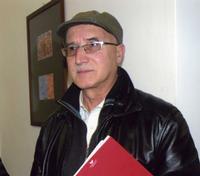 Franco Spena Franco Spena in un ritratto fotografico di Maria Pia Lo Verso  - Galleria Studio 71 Pal