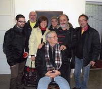 Studio 71 Palermo foto di gruppo da sx. Grazyone, Giuliana, Riggi, Spena, Scorsone, Sucato e Lambo P