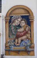 Murales Murales dipinto dall'artista Giuseppe Marchese TERRASINI Maria Pia Lo Verso