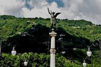 MONUMENTO AI CADUTI Monumento voluto anche dai Santangiolesi di New York per i caduti della guerra 1915-18  - Sant'angelo di brolo (884 clic)