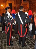 Carabinieri alla processione di San Nicola Carabinieri in alta uniforme in occasione della festa di San Nicola a Isnello  - Isnello (3163 clic)