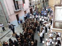Concerto a Isnello nella Via Sac. Conoscenti (2593 clic)