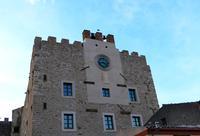 Parte superiore della torre del castello aragonese   - Marineo (1427 clic)