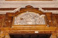 CHIESA  DI  SAN  MATTEO BASSORILIEVO  DI  GIACOMO  SERPOTTA PALERMO Maria Pia Lo Verso