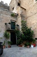 Un balconcino del castello aragonese Beccadelli   - Marineo (1445 clic)
