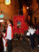 Processione per la festa di San Nicolò Festa del Patrono di  Isnello  San Nicolò -  settembre 2011  - Isnello (2579 clic)