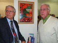 Francesco Scorsone e Antonino Perricone Un momento dellamostra di Perricone alla galleria studio 71