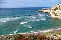 Spiaggetta e mare mosso  TERRASINI Maria Pia Lo Verso