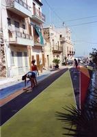 Via Cutino operazione di Street art Isola delle Femmine Via Cutino anno 1991. Artisti, critici e rag