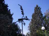 Il Falco Parco dell'Arte, Fondazione La Verde La Malfa: installazione di Giusto Sucato: Il falco.    - San giovanni la punta (6588 clic)