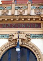 Cine Teatro Nazionale Teatro Nazionale divenuto successivamente cinema e oggi sala Bingo. Progetto d