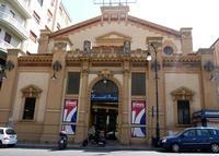 Teatro Nazionale del 1914 Progetto di ERNESTO BASILE : Teatro Cine Nazionale divenuto sala Bingo -