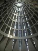 La cupola Santuario della Madonna delle Lacrime - interno della cupola  - Siracusa (7037 clic)