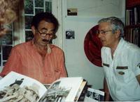 Filippo Scimeca e Francesco M. Scorsone Filippo Scimeca alla Galleria Studio 71 di Palermo con Francesco M. Scorsone  - Palermo (3611 clic)