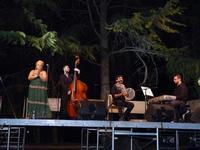 Luca Rossi e il suo gruppo  Concerto spettacolo di Luca Rossi con la cantante Loredana Carannante  - San giovanni la punta (1522 clic)