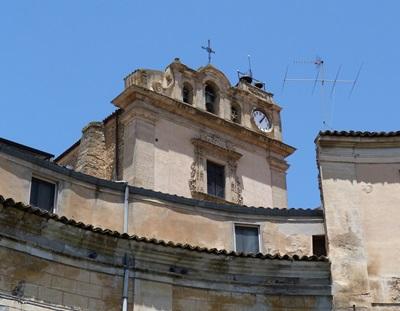 Particolare della Chiesa di San Giuseppe - LEONFORTE - inserita il 27-Nov-14