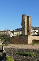 Orto botanico- Scultura Scultura di  MEDHAT SHAFIK intitolata  QANAT, LE ROTTE DEL CIELO.  - Gibellina (1413 clic)