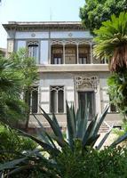 Villino Favaloro La Villa(Giov.Batt. F.ppo BASILE) oggi è stata abbandonata. Si legge che avrebbe do