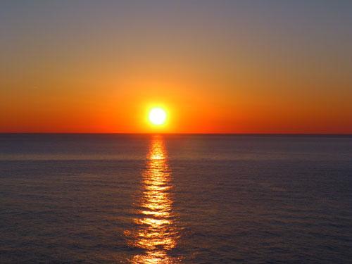 tramonto  - BROLO - inserita il 07-Jul-14