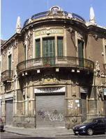 Garage Musmeci Catania centro, il Garage Musmeci foto del giugno 2008  - Catania (1404 clic)